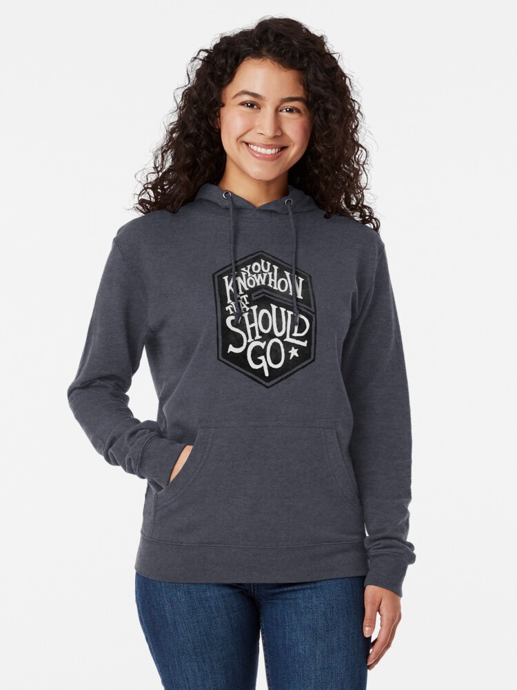 Alternate view of Drake - You Know How That Should Go Lightweight Hoodie