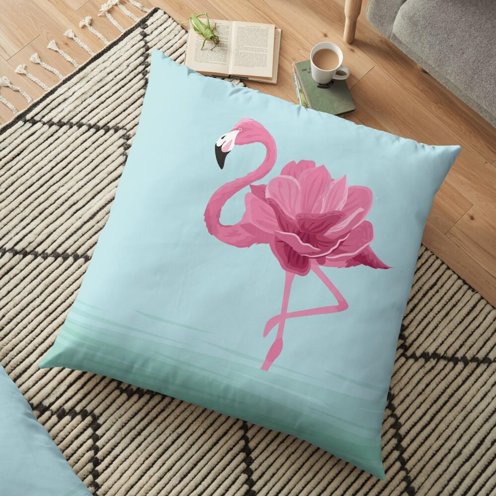 Flowermingo Floor Pillow