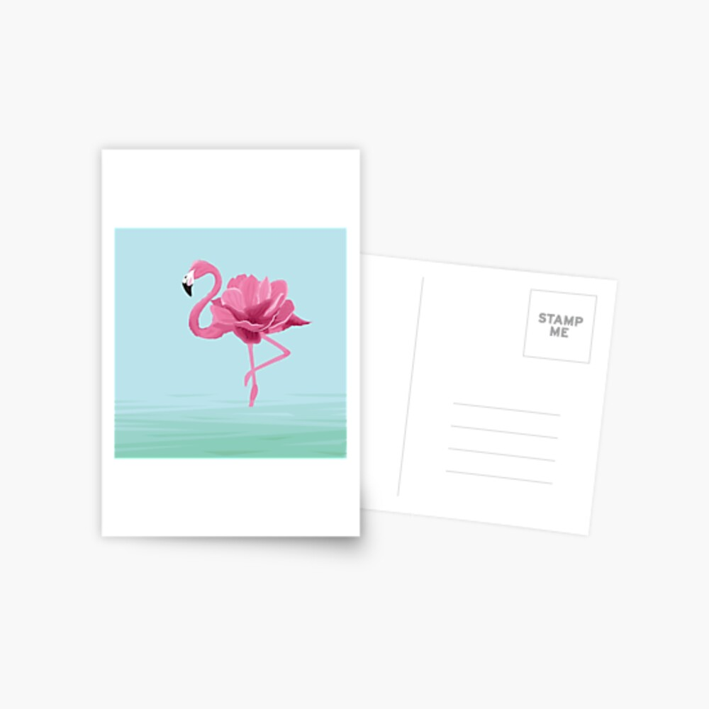 Flowermingo Postcard