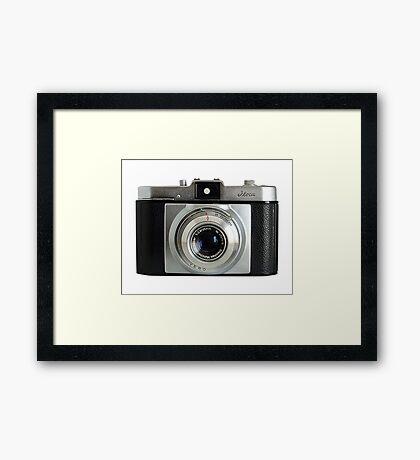 iLoca 35mm Camera Framed Print