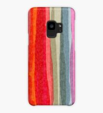 willow stripe Case/Skin for Samsung Galaxy