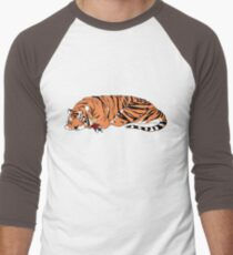 Hobbes and Calvin Men's Baseball ¾ T-Shirt