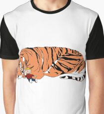 Hobbes and Calvin Graphic T-Shirt
