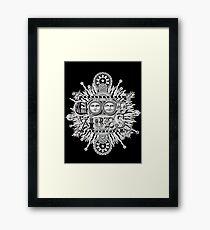 GOOD VIBES >> T-SHIRT , APPAREL, STICKER ,CLOCK, ETC Framed Print