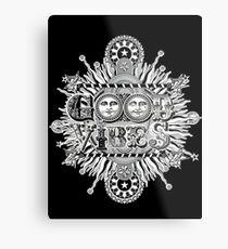 GOOD VIBES >> T-SHIRT , APPAREL, STICKER ,CLOCK, ETC Metal Print