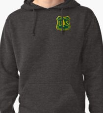 U S Forest Service Pullover Hoodie