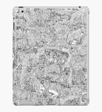 WolfMee - Pen & Ink iPad Case/Skin