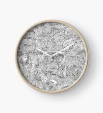 WolfMee - Pen & Ink Clock