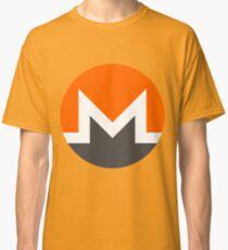 Monero XMR Crypto Currency Icon Classic T-Shirt