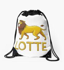 Lotte Lion Drawstring Bags Drawstring Bag