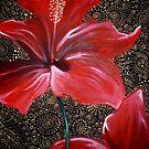 Red Hibiscus II by Cherie Roe Dirksen