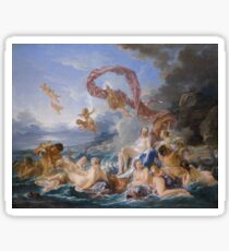 Francois Boucher The Triumph of Venus Sticker
