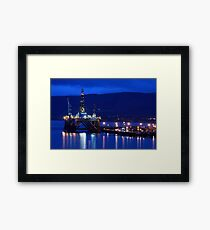 TLV in Invergordon. Framed Print