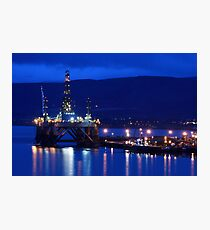 TLV in Invergordon. Photographic Print