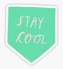 Stay Cool Kid Sticker