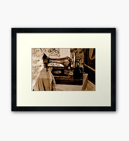 'Singer not the Song' Framed Print