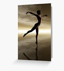 The Dance of Natural Beauty Greeting Card