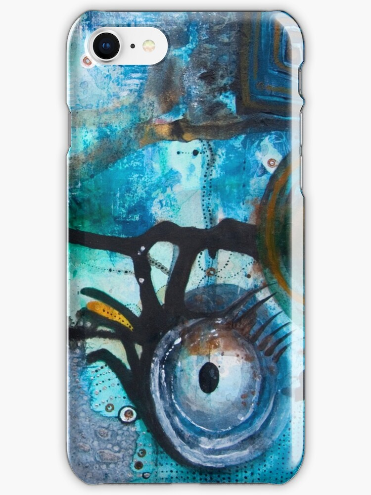 Joining the Dots 3 iPhone/iPod Case by Jay Taylor