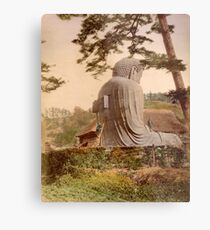 Giant Buddha, Japan Metal Print