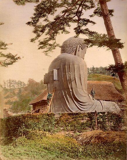 Giant Buddha, Japan by Fletchsan