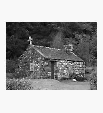 St Johns church, Glencoe Photographic Print