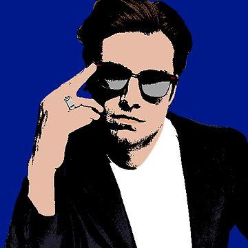 Sebastian Stan by RustedSoldier
