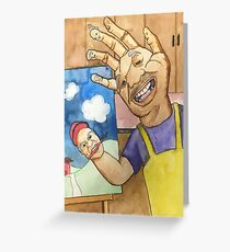 Handy Little Accidents Greeting Card