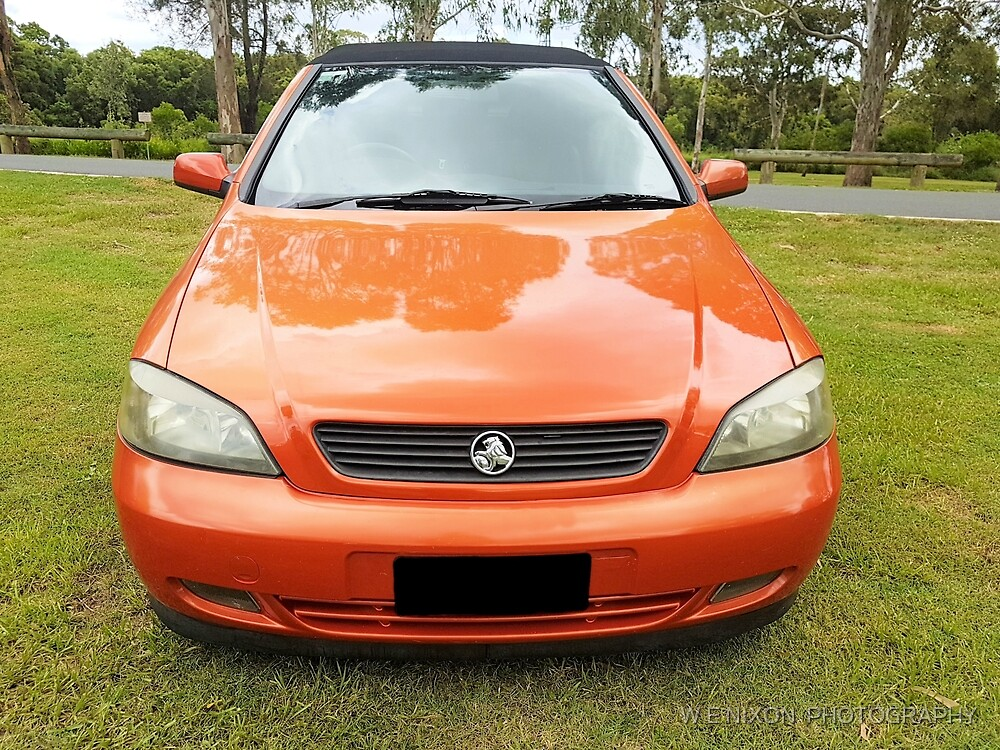 2004 Holden Astra Convertible  by W E NIXON  PHOTOGRAPHY