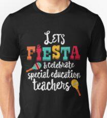 Cinco De Mayo Teacher Shirt, Let's Fiesta Special Education Unisex T-Shirt