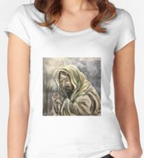 Agony in the Garden Women's Fitted Scoop T-Shirt