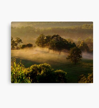 """""""Mist at the Yards"""" Canvas Print"""