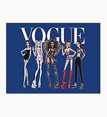 VOGUE design T-Shirts Photographic Print