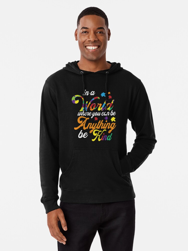 Meaning Autism Awareness T-Shirt. Gift Ideas For Dad/Mom. Lightweight Hoodie