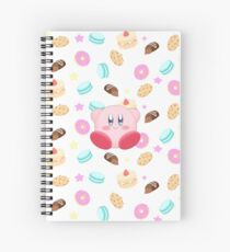 Kirby & Süßigkeiten Spiralblock