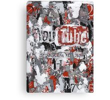 Social Series - Youtube Canvas Print