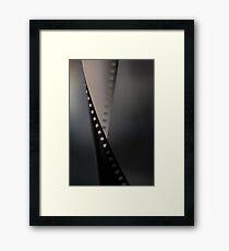 Film with a Twist Framed Print