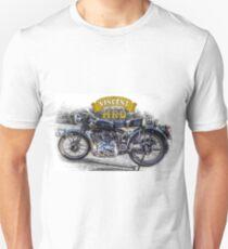 Vincent HRD Black Shadow Motorcycle Unisex T-Shirt