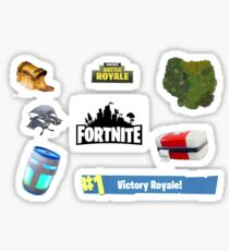 FORTNITE STICKER PACK- Every sticker in one shipment (8 Stickers) Sticker