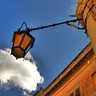 Hanging Lamp at Mdina by Rosalie M