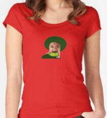 Womens St Patricks Day Shirts Women's Fitted Scoop T-Shirt