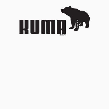 Kuma. by hikickry