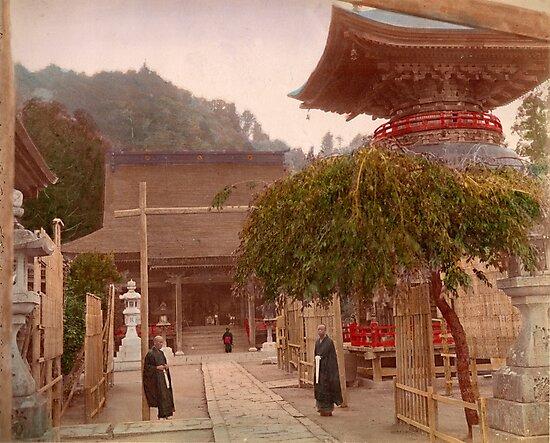 Mayasan Temple, Japan by Fletchsan