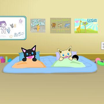 Beedog kids Bedtime by RockmelonSoda