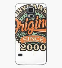 Birthday 18 Design: Original since Case/Skin for Samsung Galaxy