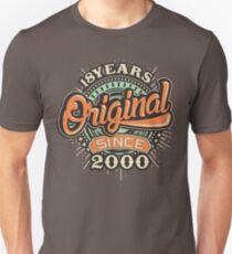 Birthday 18 Design: Original since Unisex T-Shirt
