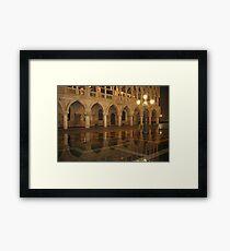 St Marks square Framed Print