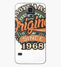 Birthday 50 Design: Original since Case/Skin for Samsung Galaxy