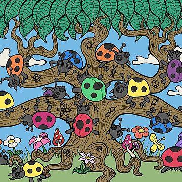 Ladybug Tree by bgilbert