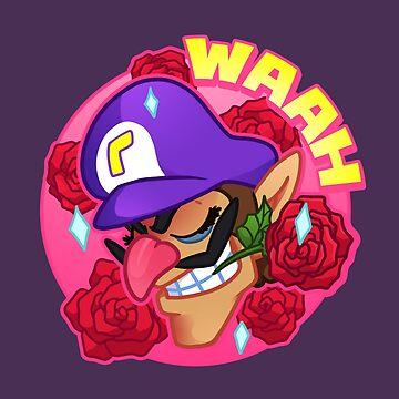 Waluigi Rose Romance by Iris-sempi