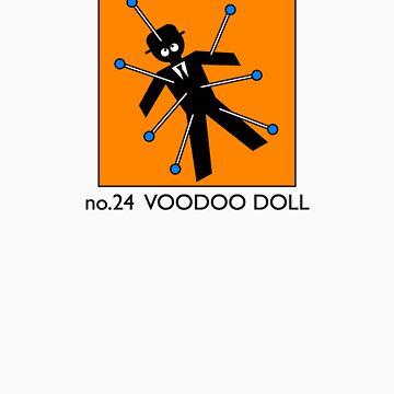 no.24 VOODOO DOLL by ppodbodd